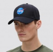 Кепка NASA Logo Cap (Alpha Industries)