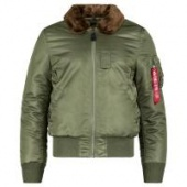 Бомбер B-15 Slim Fit (Alpha Industries)