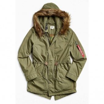 Парка женская J-4 Fishtail (Alpha Industries)